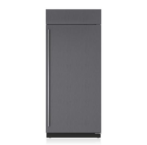frigorifero ad armadio / grigio / da incasso / Energy Star