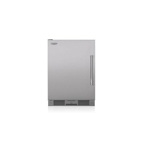 frigorifero compatto / in acciaio inox / ecologico / da incasso