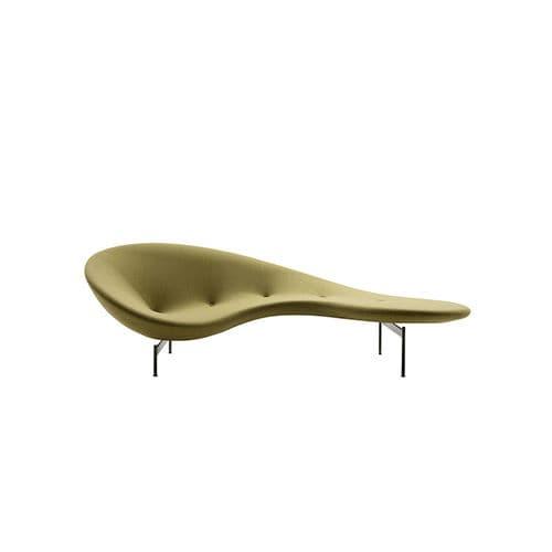 divano a semicerchio / design originale / in tessuto / in acciaio