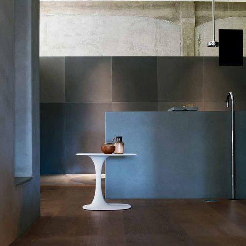 tavolo d'appoggio moderno / in Cristalplant® / ovale / di Naoto Fukasawa