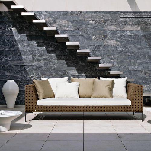 divano modulare / moderno / da giardino / in fibre sintetiche