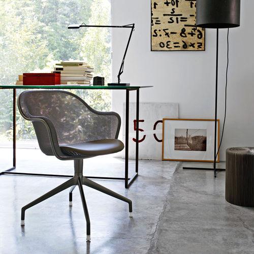 sedia da ufficio moderna / girevole / con rotelle / imbottita