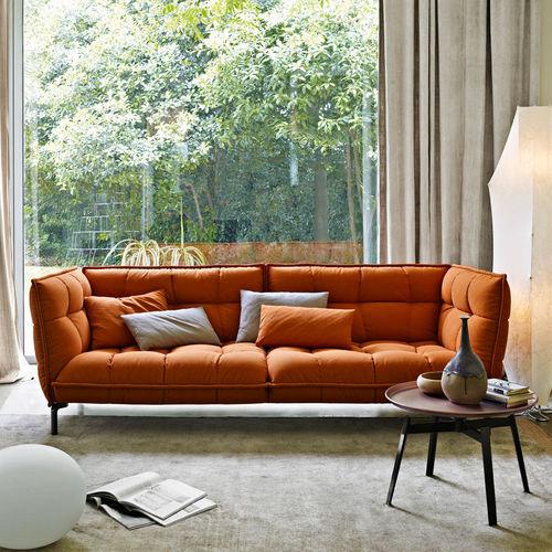 divano moderno / in tessuto / di Patricia Urquiola / 2 posti