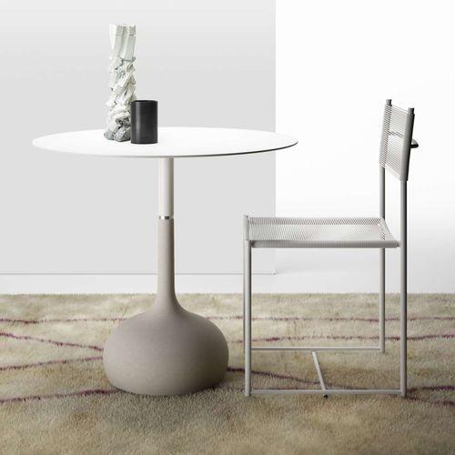 Tavolo moderno / in calcestruzzo / in acciaio laccato / in acciaio SAEN XS / SN3 by Gabriele & Oscar Buratti ALIAS