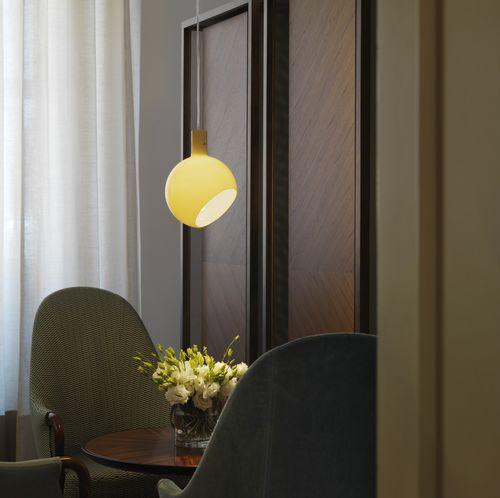 Lampada a sospensione / moderna / in vetro / da interno PAROLA  FontanaArte