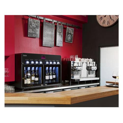 distributore di vino in calice - Eurocave