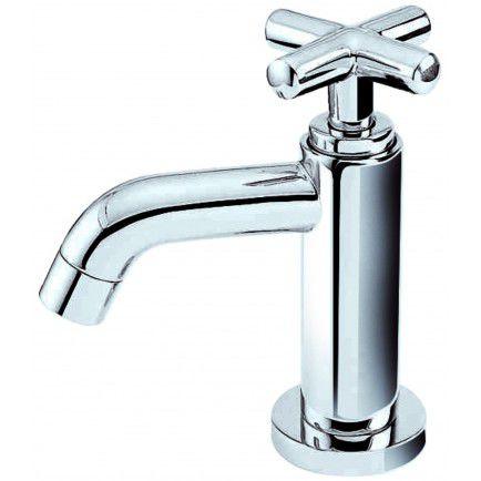 rubinetto per lavabo / da appoggio / in acciaio inossidabile / standard