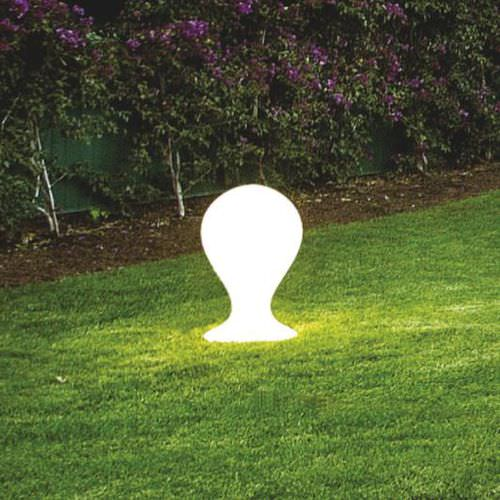 lampada da pavimento / moderna / in vetro / da esterno