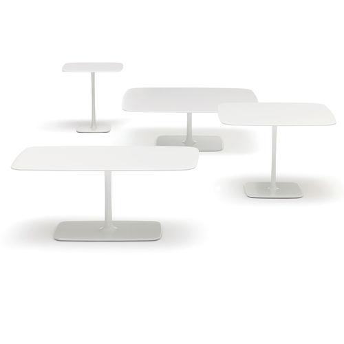 tavolo d'appoggio moderno / quadrato