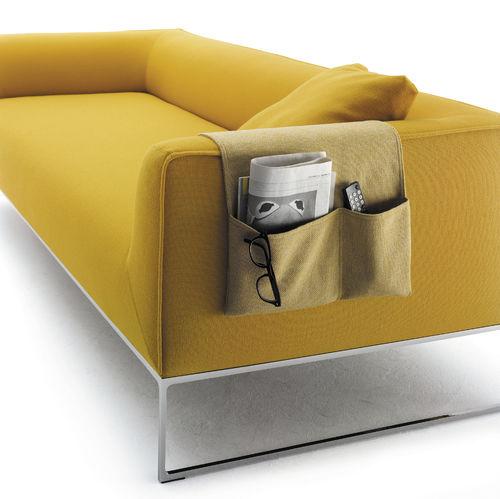 portariviste moderno / per uso residenziale / in tessuto