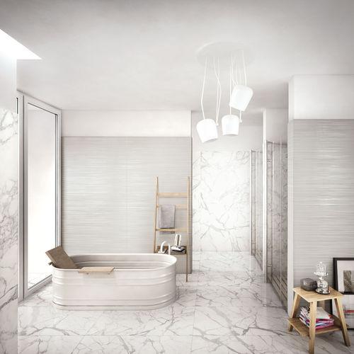 Piastrella da interno / da parete / per pavimento / in gres porcellanato ELEMENTS LUX : CALACATTA CERAMICHE KEOPE