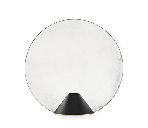 specchio da terra / moderno / tondo