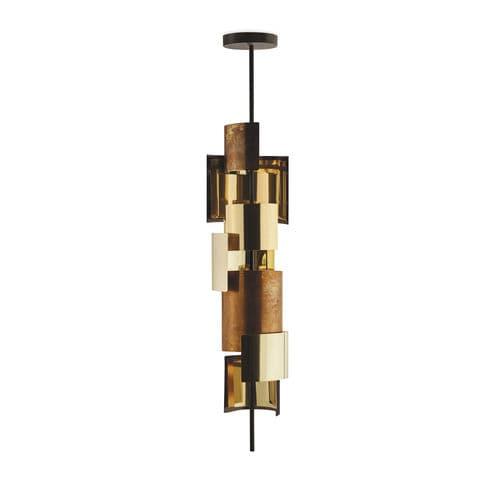 lampada a sospensione / moderna / in ottone / in bronzo