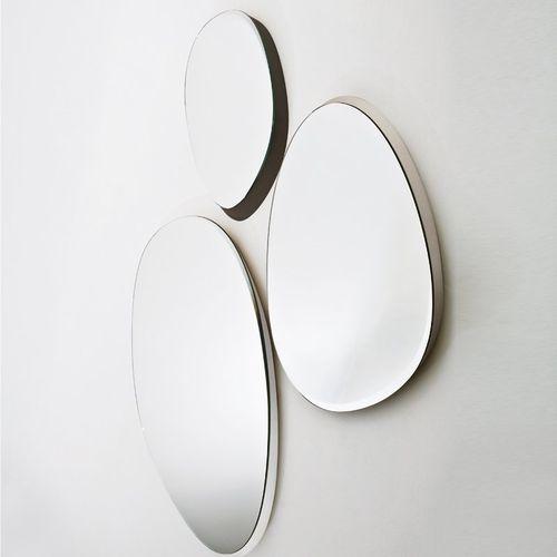 specchio a muro / da sala / moderno / in legno