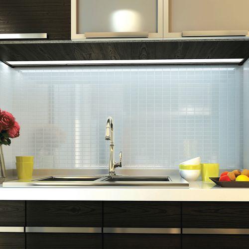 piastrella da interno / da cucina / da parete / in vetro
