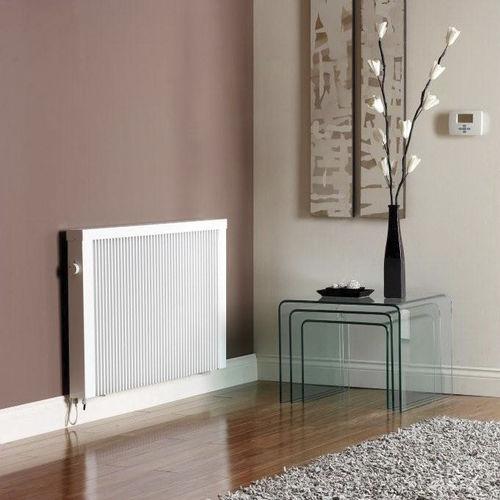 radiatore elettrico / in metallo / moderno / orizzontale