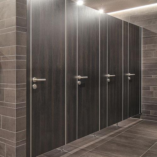 cabina WC per bagno pubblico / in legno