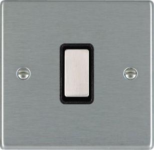 interruttore a pulsante / in metallo / classico