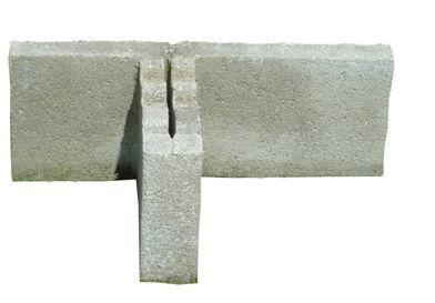blocco di calcestruzzo forato / per muro di contenimento