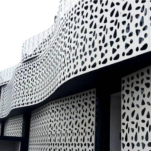 rivestimento di facciata in metallo - BPLAN