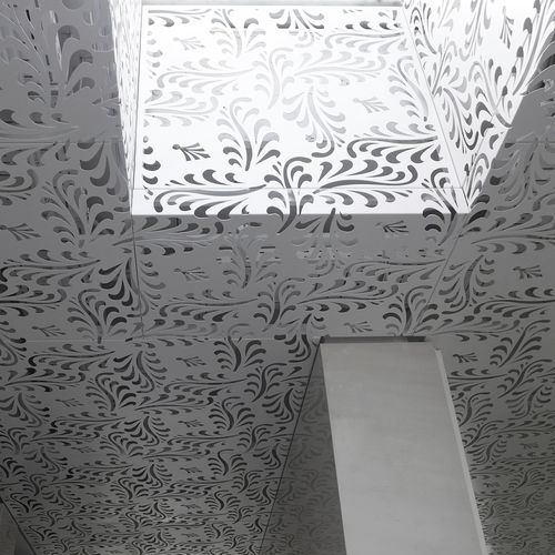 pannello decorativo in alluminio / per controsoffitto / per soffitto / retroilluminato