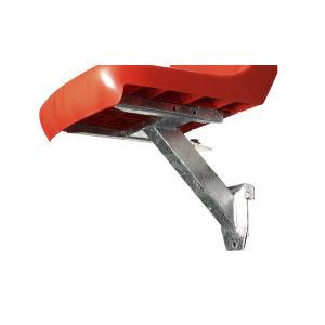 supporto sedia per gradinate