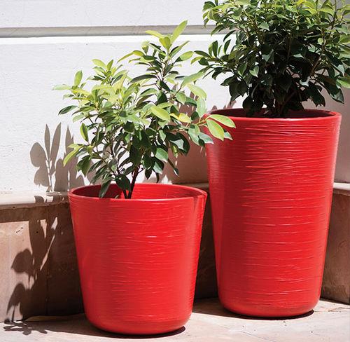 Vaso da giardino polimerico / rotondo / quadrato BELLO Frontier Polymers Pvt Ltd