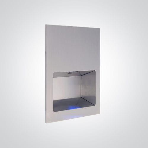 asciugamani elettrico automatico / da parete / in acciaio inox