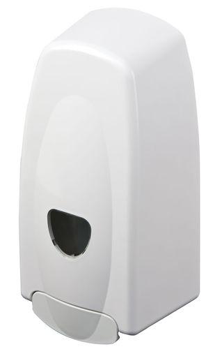 distributore di sapone contract / da parete / in ABS / manuale