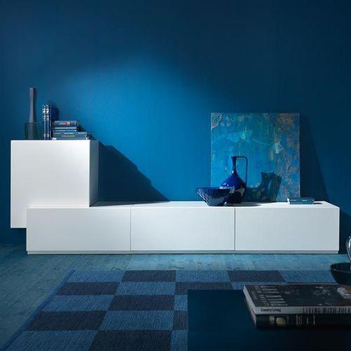 parete attrezzata per soggiorno moderna / in MDF