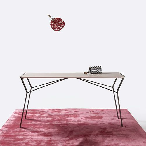 tavolo moderno / in quercia / in legno massiccio / in MDF