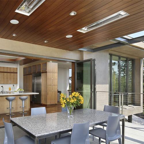 stufa ad infrarossi da parete / da soffitto / elettrica / contract