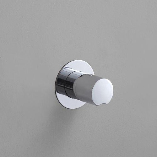 miscelatore da doccia / da incasso / in metallo / termostatico