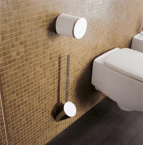 distributore di carta igienica da parete / in ottone / in cromo / contract