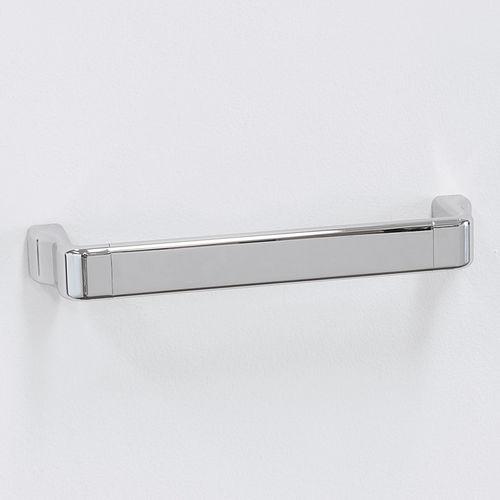 portasalviette a 1 barra / da parete / in ottone / in cromo