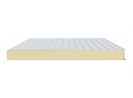 pannello sandwich per tetto / rivestimento in metallo / anima in poliuretano PUR