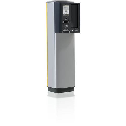 colonna di controllo accessi / in metallo / automatica