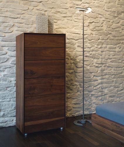 lampada da terra / design originale / in metallo / in PMMA