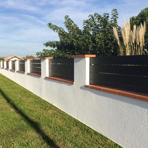 recinzione da giardino / in alluminio