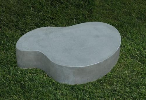Tavolino basso design originale / in cemento / da interno / da giardino LAND.7.30 LAND.7.20 LOVECEMENT