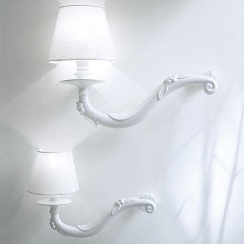 applique moderna / in ceramica / in lino / alogena