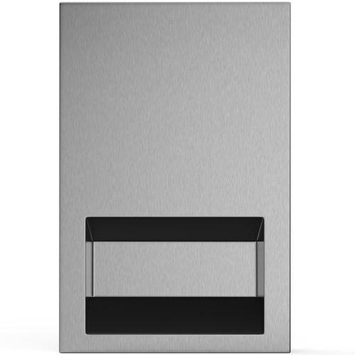 asciugamani elettrico automatico / da incasso / in acciaio inox / ad alta velocità
