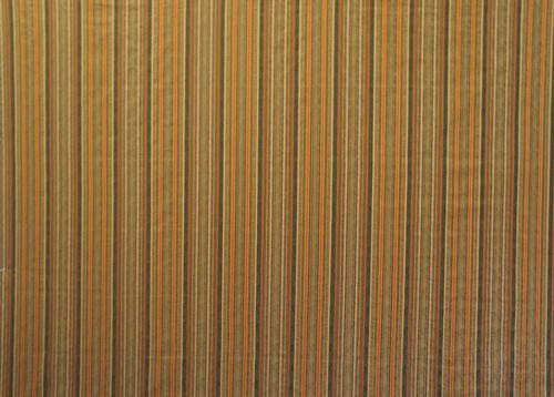 tessuto da tappezzeria / a righe / in cotone