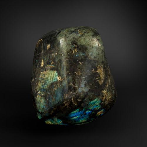 Scultura in pietra naturale GUIDERO_LABRADORITE_GEMSTONE_LAB35_14kg GUIDERO Holland BV