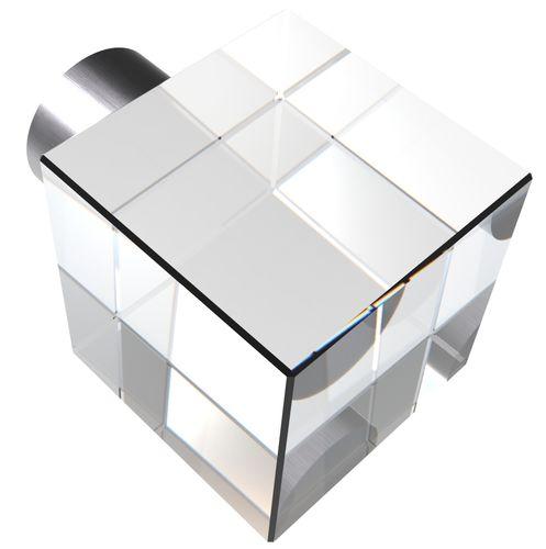 Pomello per porta moderno / in cristallo GUIDERO_CRYSTAL-FURNITURE_KNOB_PULL_SQUARE GUIDERO Holland BV