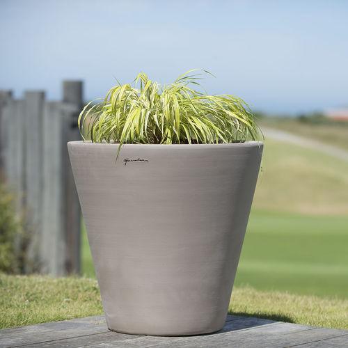 vaso da giardino in terracotta / in terracotta / tondo / conico