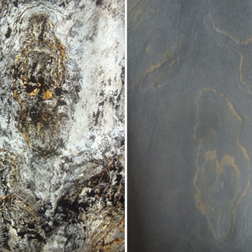 Pannello decorativo di rivestimento / in pietra naturale / da parete / per interni TRANSLUCENT ARDOISE - MONTRÉAL StoneLeaf