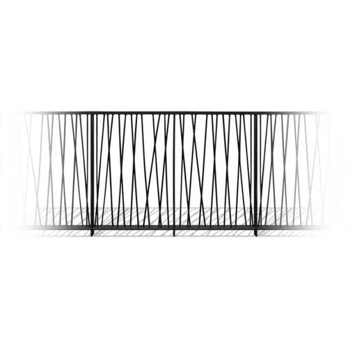 ringhiera in acciaio / a sbarre / da esterno / per scala