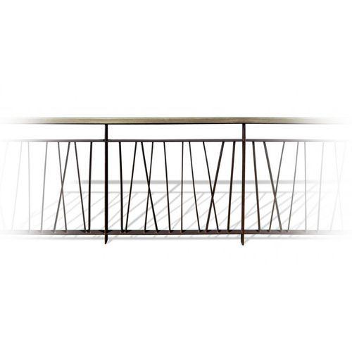 ringhiera in acciaio / in legno / a sbarre / da esterno