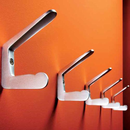 appendiabiti da parete moderno / in alluminio / multiplo / professionale
